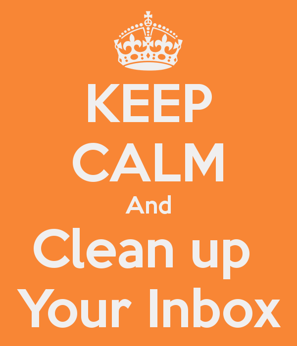 clean up your yahoo inbox