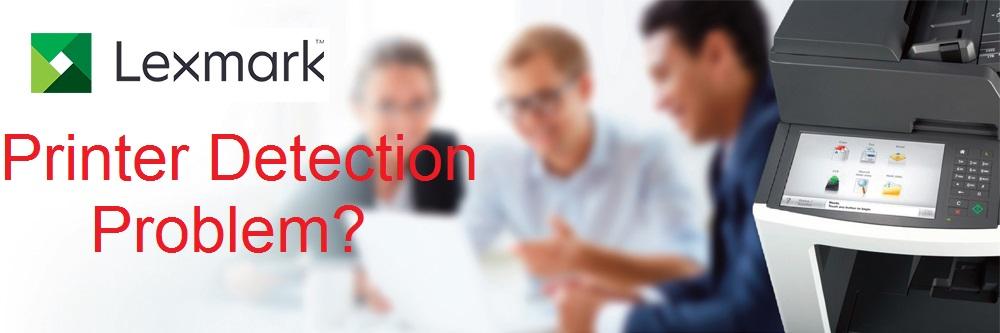laxmark printer detection issue
