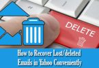 How to Recover Lost-deleted Emails in Yahoo Conveniently