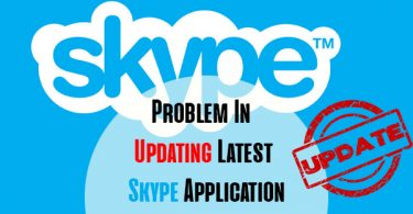 Problem In Updating Latest Skype Application