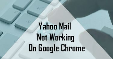 Yahoo Mail Not Working On Google Chrome