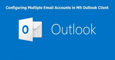 add multiple email in ms outlook