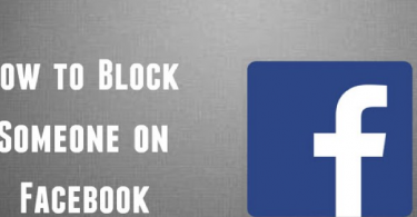 block or unblock someone on Facebook