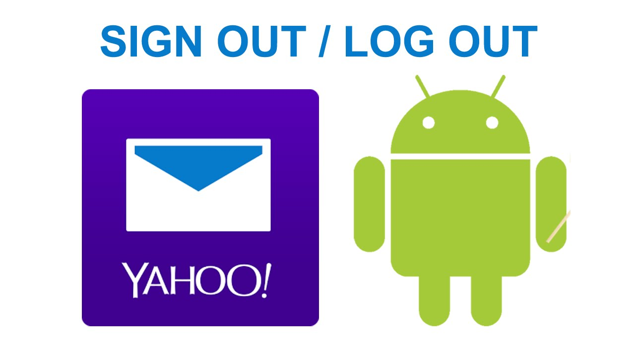 logout yahoo android app