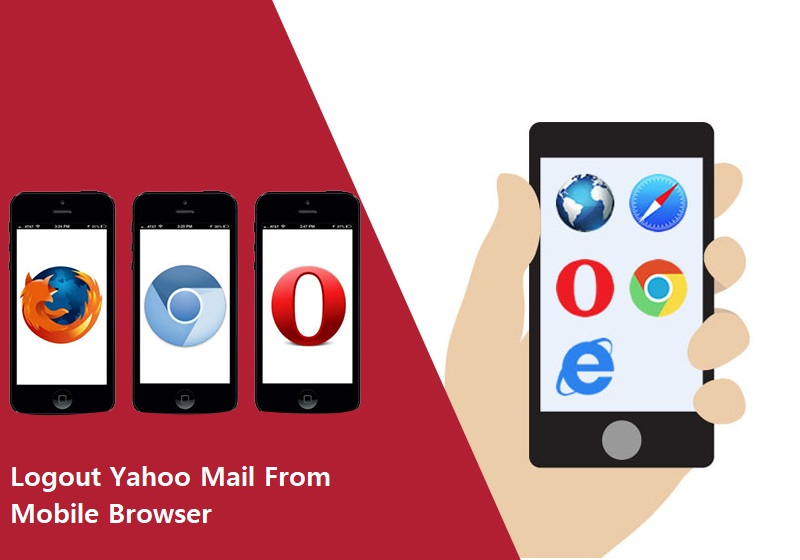 logout Yahoo mail from mobile browser