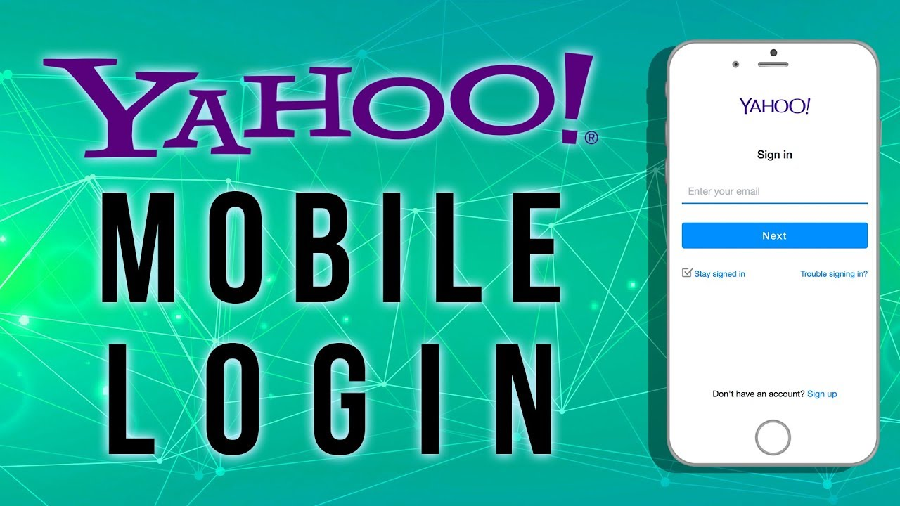 yahoo sign in mobile browser