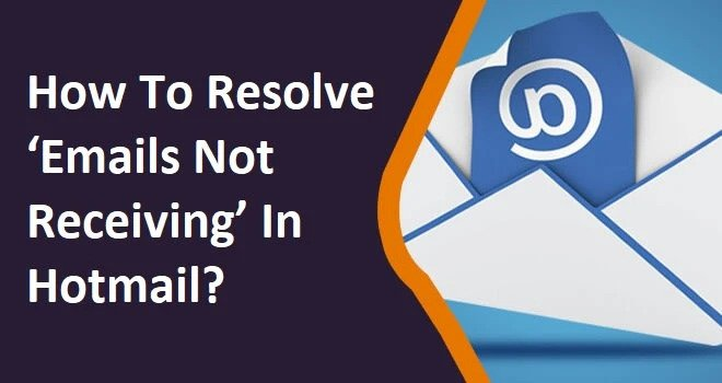 hotmail not receiving emails