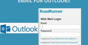 roadrunner setup on outlook